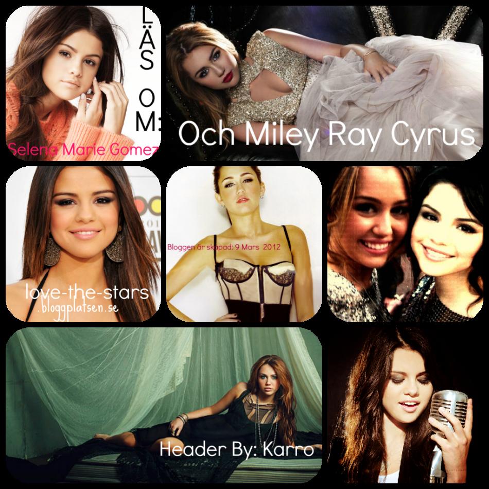 En blogg om ; Selena Gomez & Miley Cyrus ♥